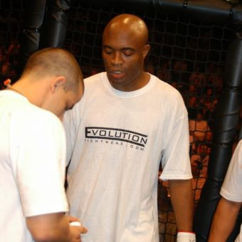 Anderson Silva Wears Evolution Fightwear