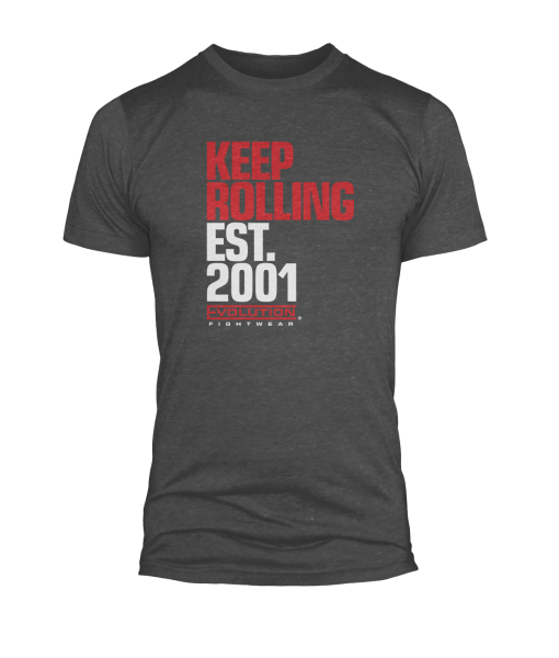 mens-tshirt-keep-rolling-dark-grey